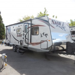 2016 NASH 25C TRAVEL TRAILER