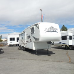 2006 KEYSTONE EVEREST 294L 5TH WHEEL TRAVEL TRAILER